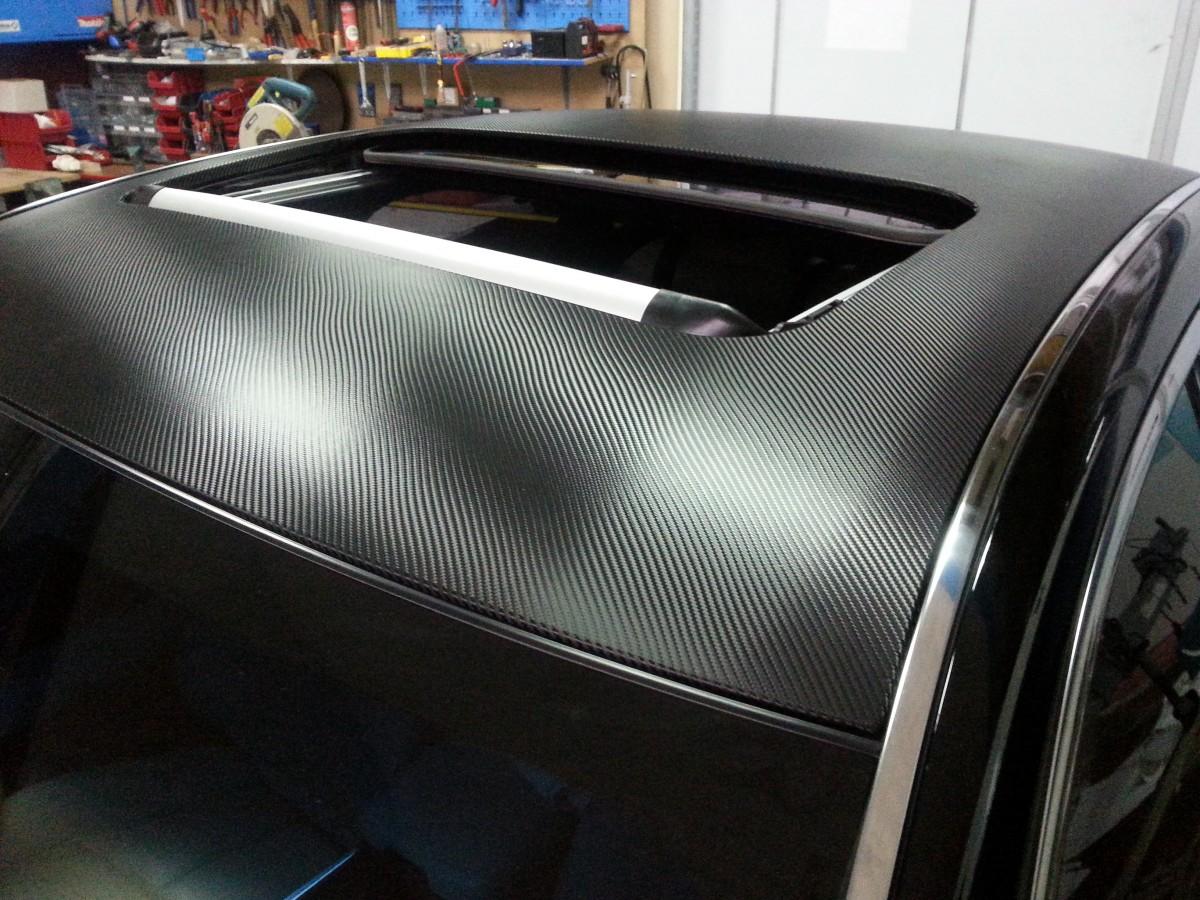 Realizacja - Dach karbon