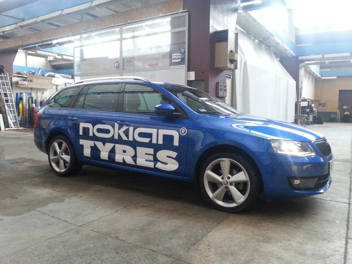 Realizacja - Nokian tyres